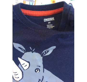 Regata rinoceronte gymboree - 2 anos - Gymboree