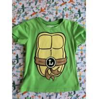 Camiseta tartaruga ninja - 1 ano - Riachuelo