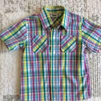 Camisa xadrez colorido - 3 anos - Trick Nick