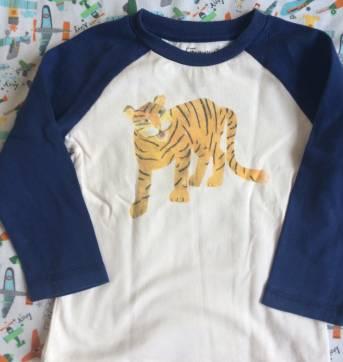 Camiseta tigre gymboree - 18 a 24 meses - Gymboree