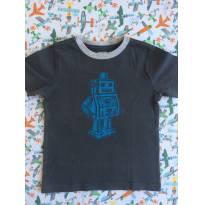 Camiseta robô gymboree - 18 a 24 meses - Gymboree e Outros