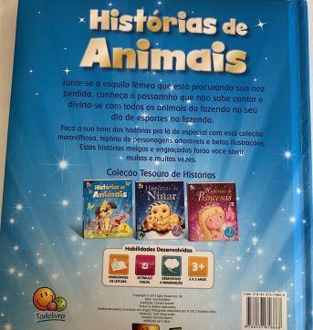 Livro histórias animais - Sem faixa etaria - Todo Livro