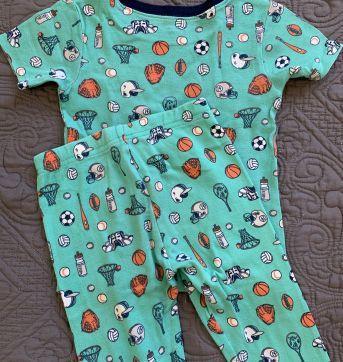 Pijama Cartes 4 anos - 4 anos - Carter`s