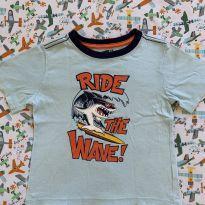 Camiseta tubarão - 4 anos - Crazy 8
