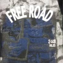 Moleton Preto Free Road - 2 anos - Não informada