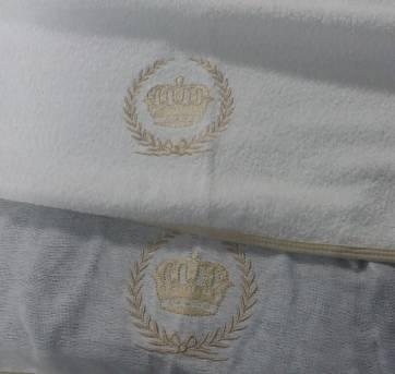 Toalha de Banho Dupla com Capuz e Forro de Fralda - Sem faixa etaria - Não informada