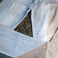 Calça Jeans com Brilho nos Bolsos - G - 44 - 46 - Não informada