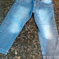 Calça Jeans Infantil Masculina com Ajuste - 3 anos - Não informada