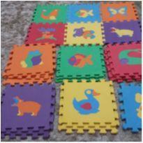Tapete Infantil Educativo EVA Animais - Kit 20 Peças -  - Não informada