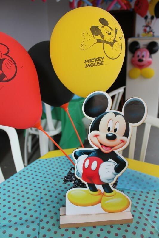 Decoraç u00e3o de Mesa Personalizada Mickey no Ficou Pequeno Desapegos de Festas Infantis quase  # Decoração De Festas Com Xícaras