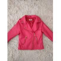 Linda jaqueta  rosa pink - 6 anos - Trick Nick