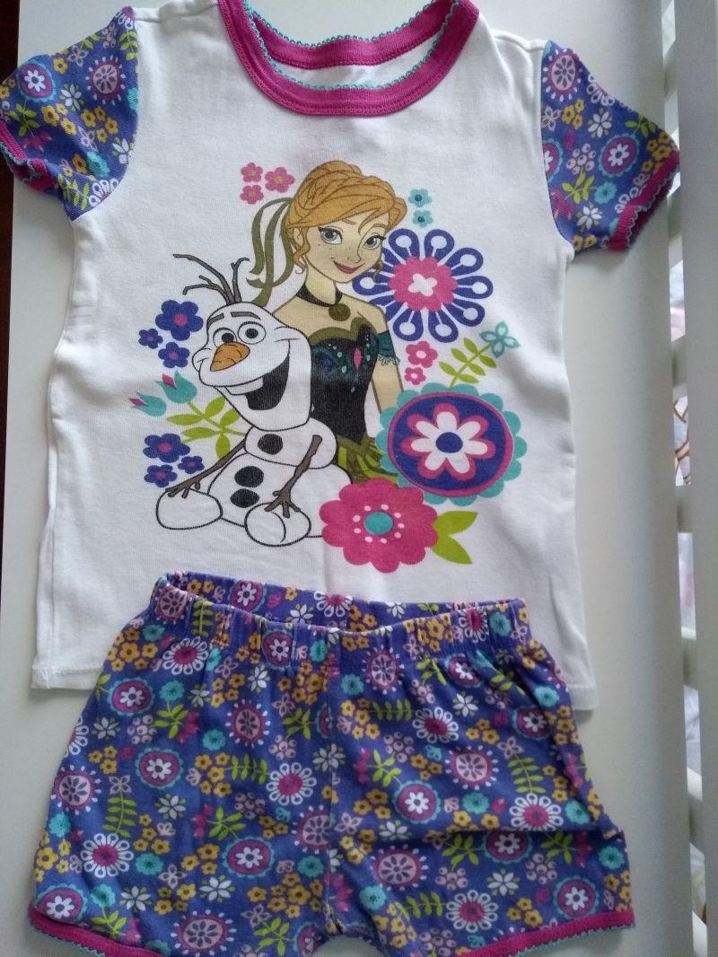 548d51bf824f2c Pijaminha da Anna (Frozen) importado Disney store