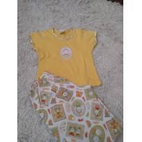 Pijama amarelo sonhart - 4 anos - Sonhart