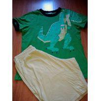 Pijama Dinossauro  da marca Veggie - 14 anos - Não informada