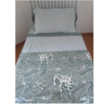 Kit de cama dinossauros - Sem faixa etaria - Mmartan