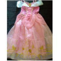 Fantasia princesa Aurora Disney - 5 anos - Disney