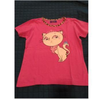 Pijaminha rosa pink puket - 6 anos - Puket