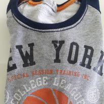 Blusa moletom basquete - 5 anos - Não informada e Marca não registrada