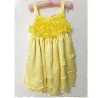 Vestido amarelo - 3 anos - Petit Cherie