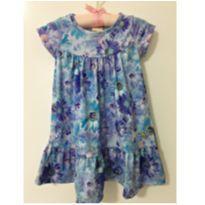 Vestido floral - 1 ano - Colorittá