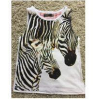 Blusa zebra - 3 anos - Puramania