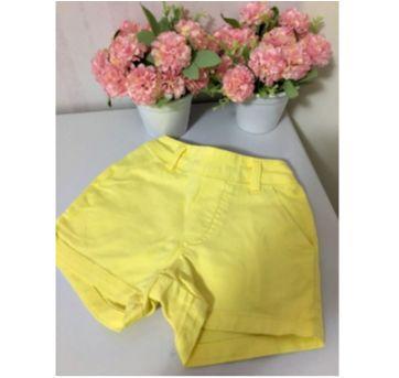 Shorts amarelo - 2 anos - Carinhoso