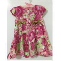 Vestido floral - 6 a 9 meses - Boca Grande