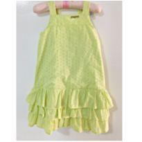 Vestido amarelo - 3 anos - Momi