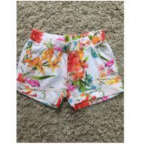 Shorts flores - 7 anos - Boca Grande