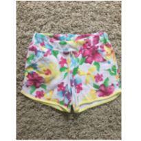 Shorts florido - 8 anos - Boca Grande