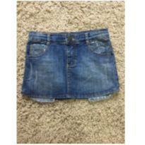Saia Jeans - 8 anos - Não informada