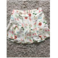 Saia shorts - 5 anos - Carinhoso