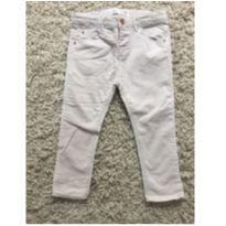 Calça off white - 18 a 24 meses - Zara Baby