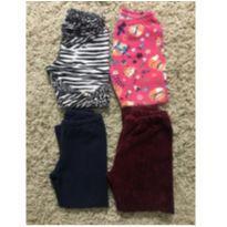 Kit calças - 18 a 24 meses - Não informada