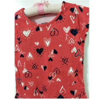 Blusa vermelha - 6 anos - Marisol