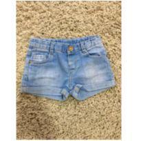 Shorts jeans - 18 a 24 meses - Zara Baby