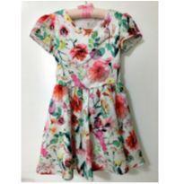 Vestido floral - 6 anos - Carinhoso