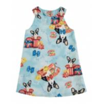 Vestido trapezio Glinny - 2 anos - Boca Grande