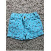 Shorts Flamingos - 4 anos - Marisol