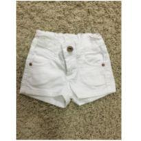 Shorts branco - 24 a 36 meses - Malwee