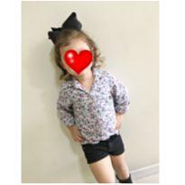 Camisete flores - 2 anos - Hering Kids