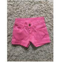 Shorts pink - 18 a 24 meses - playground