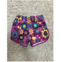 shorts flores - 8 anos - Marisol