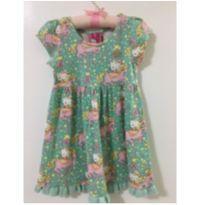 Vestido verdinho - 24 a 36 meses - Hello  Kitty