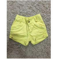 Shorts amarelo - 2 anos - Lilica Ripilica