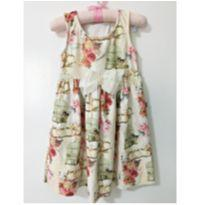 Vestido delicado passarinhos - 18 a 24 meses - Kiki Xodó