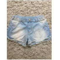 Shorts jeans listras - 10 anos - Momi