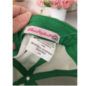 Boné pink com verde - Sem faixa etaria - Lilica Ripilica
