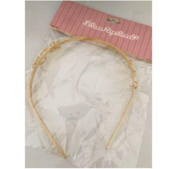 Tiara dourada - Sem faixa etaria - Lilica Ripilica