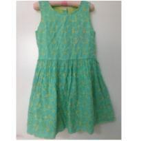 Vestido verdinho - 7 anos - Marisol